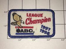 ABC League Champion 1997-1998 Patch - Bowling