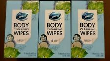 *New* Secret Calm Birch Water 45 Count Individually Wrapped Body Cleansing Wipes