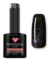 XKMY-003 VB™ Line Starry Cat Eye Black Purple - UV/LED soak off gel nail polish