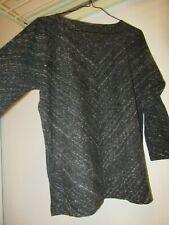 comptoir des cotonniers top jersey gris moucheté TL