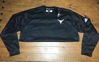 Adidas Mens 2XL Fleece Crewneck Pullover Sweatshirt Embroidered Retails $70+ NWT