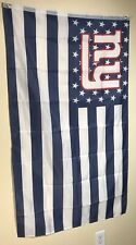 NEW YORK GIANTS STARS AND STRIPE   FLAG 3x5 FREE FAST SHIPPING! POLYESTER