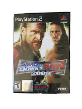 WWE SmackDown vs. Raw 2009 Sony PlayStation 2 PS2 Greatest Hits Video Game ECW