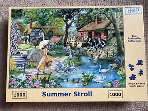 HOP The Red Castle Collection. Summer Stroll. 1000 Piece Jigsaw Puzzle.