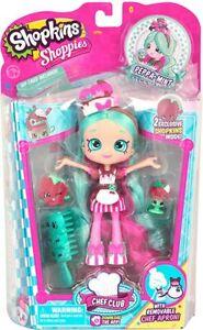 Shopkins Shoppies Chef Club Doll Peppa-Mint New In Original Packaging