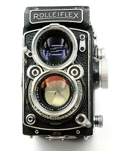 Rolleiflex 2.8C Type 2 Replacement Cover  - Laser Cut Genuine Leather Moroccan