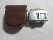Vintage Gossen Sixti Light Meter - Shoe Mount - In Rollei Case