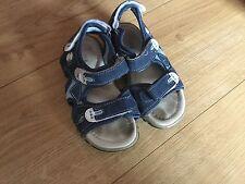 Boys Blue Sandals Size10