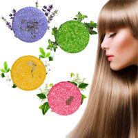60g Natural Handmade Hair Healthy Cleaning Herbal 4 Fragrance Shampoo Bar Soap A
