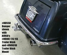 Rivco Chrome Rear Bumper Harley Tri Glide Trike FLHTCUTG / Street Glide FLHXXX