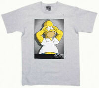 T Shirt Tee Hype Means Nothing Paris Homer Simpson Grey Gris 2012 Edition