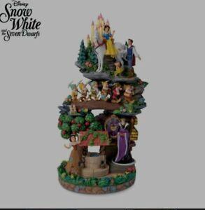 The Bradford Exchange Disney Snow White &The Seven Dwarfs Masterpiece Sculpture