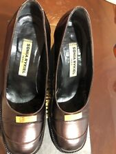 Sonia Rykiel Paris Women Shoes. Size 36.5. Made In Italy. Burgundy Color.