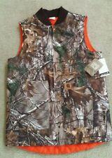 Carhartt Boys Reversible Hunting Jacket Camouflage Size Large 14/16 Orange NWT