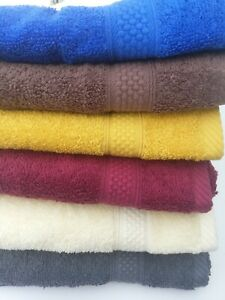 Guest Towels 100% Turkish Cotton  Small Hand Towel Face Cloth 40 x 60cm