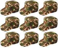 10 x unisex Camuflaje Militar Camuflaje Disfraz de Soldado Gorra Béisbol H06 119