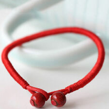 Fashion Women Lucky Charm Bead Red String Men Ceramic Bracelet Wristband Party