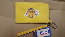 Los Angeles Lakers ID Wallet Wristlet Cell Phone Case Charm 14 Purse Gift