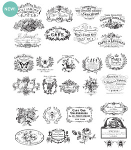 Vintage Furniture Decals Prima ReDesign Transfers Furniture Transfers Rub On