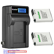 Kastar Battery LCD Wall Charger for Nikon EN-EL12 Nikon Coolpix S1200pj Camera