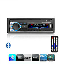 Car Auto Stereo 1 Din Audio Bluetooth FM MP3 Receiver SD USB Radio Player Remote