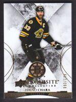 2015-16 Exquisite Collection #3 Zdeno Chara /149 Boston Bruins
