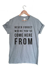 More details for take that inspired never forget lyrics t-shirt - music boy band group fan tee