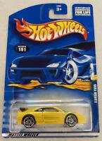 2001 Hotwheels Ferrari F355 355 Challenge Yellow! Mint! MOC!