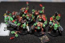 Games Workshop Warhammer 40k Orks Stikkbombers Stikkbomb Squad Painted WH40K GW