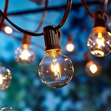 Outdoor Garden String Lights, 25ft G40 OxyLED Garden Patio Outside String Light