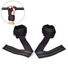 Wristband gym training weight lifting hand bar wrist support grip barbell straUQ