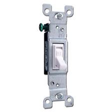 (K) Leviton Co/Alr Single-Pole Switch 2651-2W (White) Box Of 6