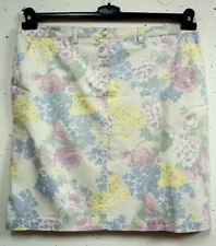 Gonne e minigonne da donna multicolore in misto cotone