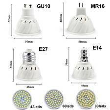 MR16 E27 E14 GU10 LED 5W 8W 10W Lampada 220V Faretto 2835 SMD ALTA LUMINOSITA