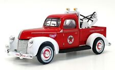 Golden Wheel 1/32 Scale 00030 - 1940 Ford Texaco Tow Truck - Red/White