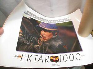 "1989 Kodak Introducing Ektar 1000 Film Poster 27""x19"" - New in Tube"