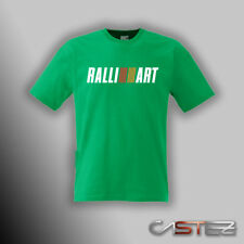 Camiseta coche rally racing drift ralliart ralli art mitsubishi (ENVIO 24/48h)