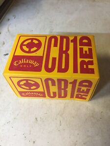 Callaway CB1 RED Vintage Golf Balls