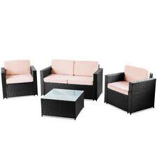 set de muebles jardin pc ratan sintetico conjunto sofa exterior messina mchaus