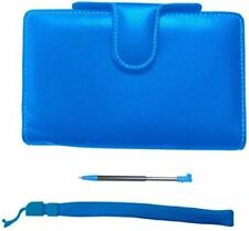 Pair&Go Nintendo 3DS Luxury Protector Case Acessory Pack Blue Stylus - New
