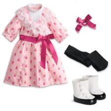 """American Girl SAMANTHA FLOWER-PICKING DRESS IN BAG for 18"""" Dolls Beforever NEW"""