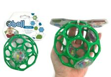 Green Oball Rattle Baby Toy