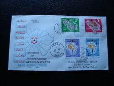 GHANA - enveloppe 1er jour 1958  (cy23)