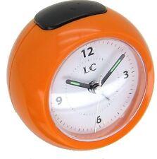Groovy 60's Retro Orange Alarm Clock 32342 BRAND NEW IN BOX