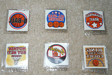 Lot of 12 Basketball temporary children's tattoos birthday party favor bags