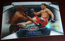 Lyoto Machida 2012 Topps Finest Refractor UFC Card #80 The Dragon 157 98 129 104