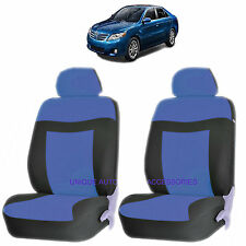 BLUE ELEGANCE AIRBAG COMPATIBLE LOWBACK SEAT COVER SET for TOYOTA CAMRY TACOMA