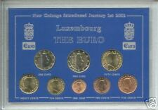 More details for the euro zone europe coinage - grand duchy of luxembourg coin collector gift set