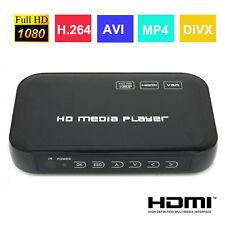 USB Full HD 1080P HDD Media Player HDMI VGA SD MMC DIVX AVI RMVB MP4 H.264 BLS