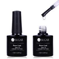 7.5ml No Wipe Base Coat Soak Off UV LED Nail Art Gel Polish Manicure UR SUGAR
